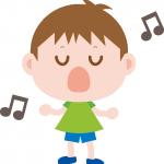 CDを聞いてでたらめに歌っています。